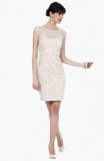 Kay Unger Lace Sheath Dress