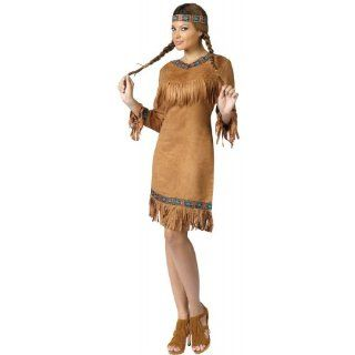 Adult Native American Indian Costume Size Small/Medium (2 8)