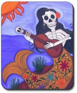 Sirena Day of the Dead Mouse Pad: Office Products