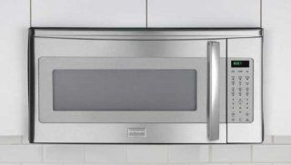 Frigidaire FPMV189KF Professional 1.8 Cu. Ft. Stainless Steel Over the Range Microwave: Kitchen & Dining