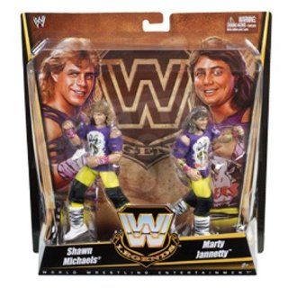 Mattel WWE Wrestling Exclusive True Legends Elite Action Figure 2Pack The Rockers Shawn Michaels Marty Jannety: Toys & Games