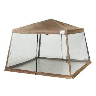 ShelterLogic Sport Series Slant Leg 12 x 12 Pop Up Canopy With Screen Insert : Outdoor Canopies : Patio, Lawn & Garden