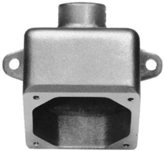 Crouse Hinds ARE56 1 1/2 Inch Back Box For 60 Amp Receptacle Housing: Home Improvement