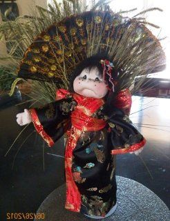 Cloth Soft Sculpture Doll Kit /193 194/ Harper in Japan/ 17 Inch String Joined/Japanese Kimono/Casual Clothes Kits: Arts, Crafts & Sewing