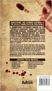 Surviving the Zombie Outbreak: The Official Zombie Survival Field Manual: Gerald Kielpinski, Brian Gleisberg: 9781554841684: Books