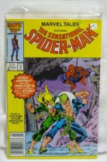 Marvel Tales Featuring The Sensational Spider Man, Vol. 1, No. 197, March 1987, Night of the Dragon: Chris Claremont, John Byrne: Books