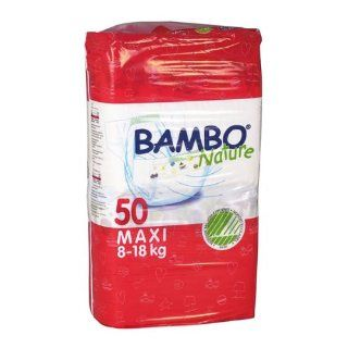 Abena Bambo Nature Premium Baby Diapers, Size 4, Maxi, 50 Count (Pack of 3): Health & Personal Care