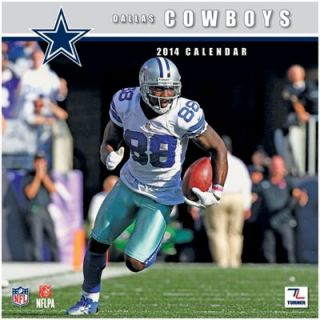 Dallas Cowboys 2014 Mini Wall Calendar