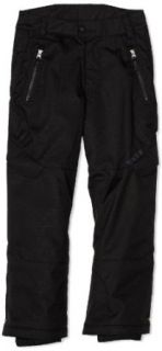 Spyder Boy's Throw Pant, Black, 12: Clothing