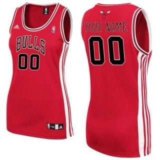adidas Chicago Bulls Womens Custom Replica Road Jersey