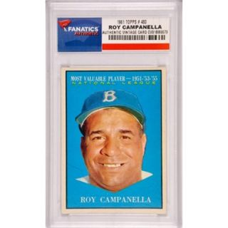 Roy Campanella Los Angeles Dodgers 1961 Topps #480 Card