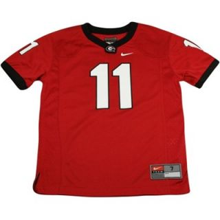 Nike Georgia Bulldogs #11 Preschool Game Football Jersey   Red