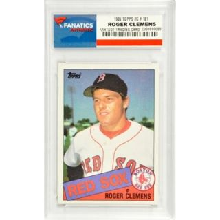 Roger Clemens Boston Red Sox 1985 Topps Rookie #181 Card