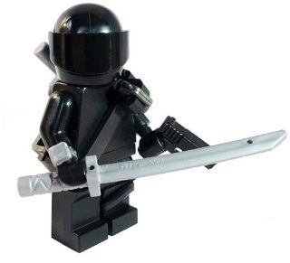 Snake Eyes (G.I. JOE Special Forces) Custom LEGO Army Combat Minifigure: Toys & Games