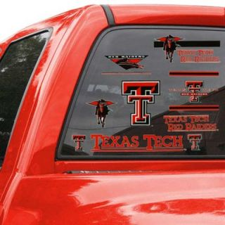 Texas Tech Red Raiders 11 x 17 Window Clings Sheet
