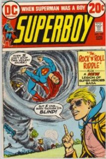Superboy No. 195: Cary Bates, Bob Brown, Murphy Anderson, Dave Cockrum: Books