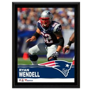 Ryan Wendell New England Patriots Sublimated 10.5 x 13 Plaque