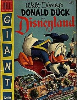 Donald Duck in Disneyland (1955 series) #1: Dell Publishing: Books
