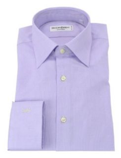 Yves Saint Laurent Men's Nido Button down Dress Shirt Purple at  Men�s Clothing store