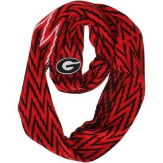 Georgia Bulldogs Ladies Infinity Chevron Scarf