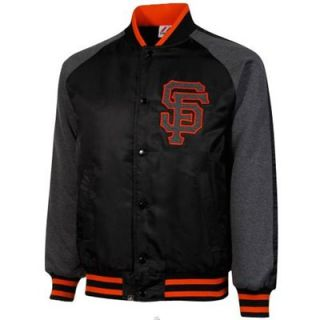Majestic San Francisco Giants Coaches Choice Jacket   Black