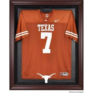Texas Longhorns Mahogany Framed Logo Jersey Display Case