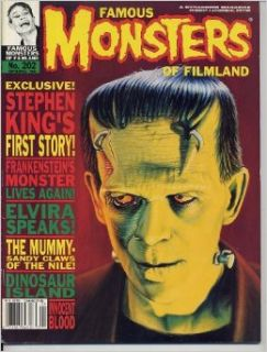 Famous Monsters of Filmland Magazine 202 FRANKENSTEIN Dinosaurs ELVIRA Raquel Welch STEPHEN KING Spring 1994 (Famous Monsters of Filmland): Forrest J. Ackerman: Books