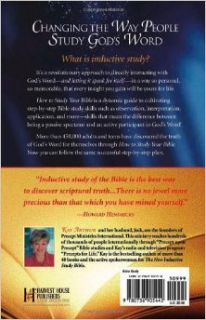 How to Study Your Bible: The Lasting Rewards of the Inductive Method: Kay Arthur: 9780736905442: Books