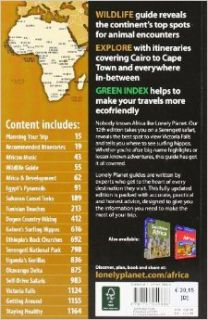 Lonely Planet Africa (Multi Country Travel Guide): Anthony Ham, James Bainbridge, Tim Bewer, Stuart Butler, Jean Bernard Carillet, Paul Clammer, Matthew D. Firestone, Mary Fitzpatrick, Katharina Kane, Kate Thomas: 9781741049886: Books