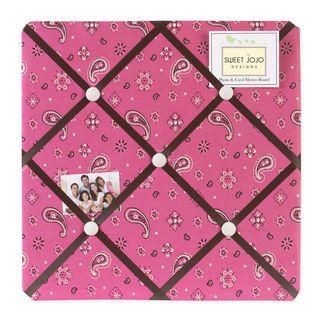 Sweet JoJo Designs Western Cowgirl   Tablero para anuncios y fotos, rosado Sweet Jojo Designs Picture Frames
