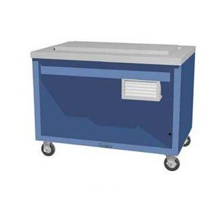 "Thurmaduke Mobile Frost Top Unit, Refrigerated Display, 88""L X 32""W X 36""H, Stainless: Appliances"
