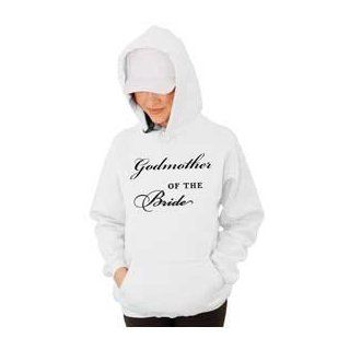 Godmother of the Bride Wedding Hooded Sweatshirt : Sporting Goods : Sports & Outdoors