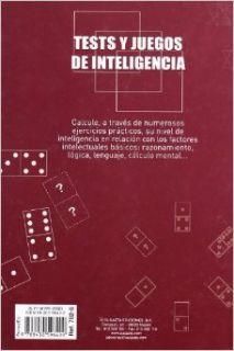 Tests y juegos de inteligencia: Equipo Susaeta: 9788430596409: Books