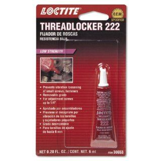 Loctite 38653 222 Purple Low Strength Thread Locker Tube   6 ml: Automotive