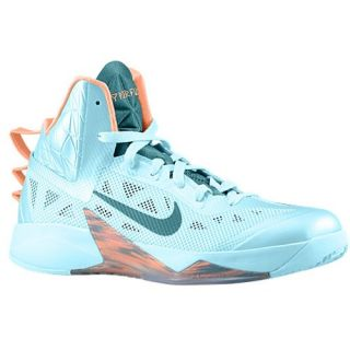 Nike Zoom Hyperfuse 2013   Mens   Basketball   Shoes   Glacier Ice/Atomic Orange/Night Factory
