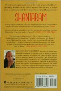 Shantaram: A Novel: Gregory David Roberts: 9780312330538: Books