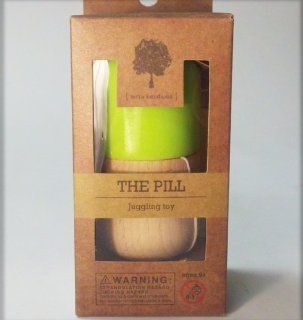 The Pill by Terra Kendama   Kendama USA   Green: Toys & Games
