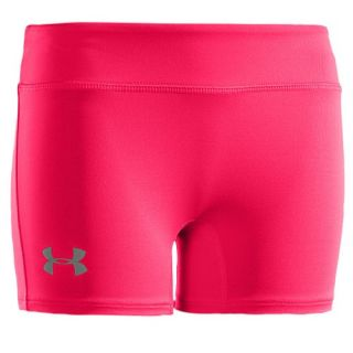Under Armour Heatgear Sonic 3 Shorts   Girls Grade School   Training   Clothing   Pinkadelic/Silver