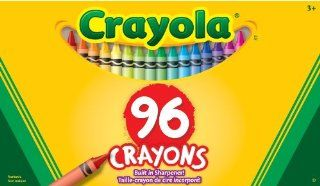 Binney & Smith Crayola(R) Standard Crayon Set, Big Box Of 96: Toys & Games