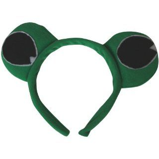 Green Frog Eyes Headband: Toys & Games