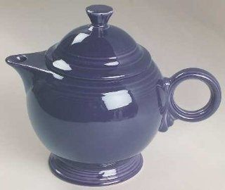 Homer Laughlin Fiesta Plum (Newer) Teapot & Lid, Fine China Dinnerware: Kitchen & Dining