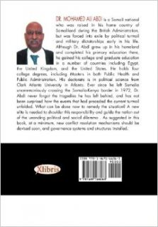 CONFLICT RESOLUTION AND NATION BUILDING IN SOMALIA: Mohamed Ali Abdi: 9781469166063: Books