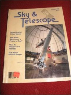 Sky & Telescope Magazine Volume 74, No. 4 October 1987: Books