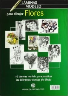 flores / Flowers: 10 modelos diferentes para dibujar / 10 different models to draw (Spanish Edition): Parramon: 9788434236585: Books