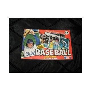 Fleer Baseball Logo Sticker & Stamp Album (Top 242 Super Stars, Bench, Garvey, Guerrero, CEy, Baker, Monday) Fleer Books