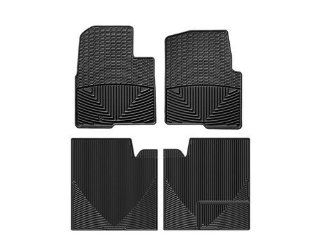 WeatherTech   W239 W274   2012 Ford F 150 Black All Weather Floor Mats Rows 1 2: Automotive