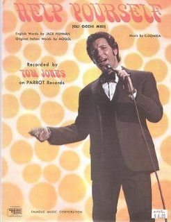 Sheet Music 1968 Help Yourself Tom Jones 242 : Prints : Everything Else