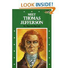 Meet Thomas Jefferson (Step Up Paperback Books) Marvin Barrett 9780394819648 Books