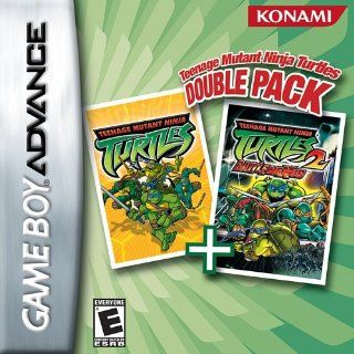 Teenage Mutant Ninja Turtles Double Pack, Teenage Mutant Ninja Turtles & Teenage Mutant Ninja Turtles 2 Video Games