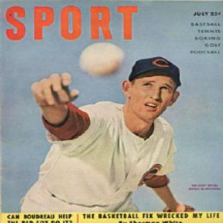 Sport Magazine   Ewell Blackwell Cincinnati Reds Cover   July 1951: Sports Collectibles